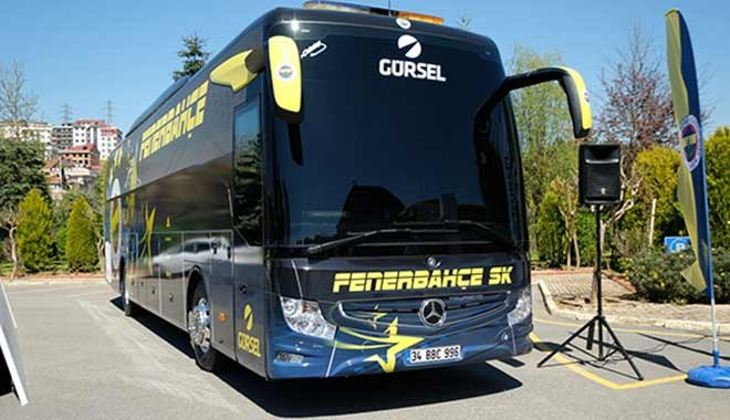 Fenerbahçe'nin yeni otobüsü! İşte özellikleri...