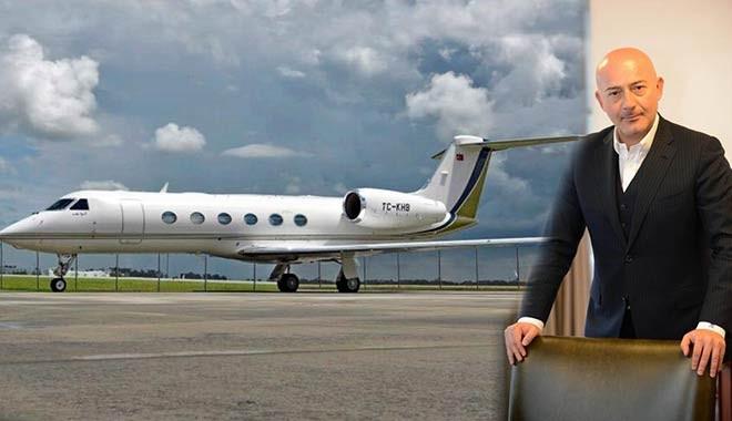 İşte Ferit Şahenk'in uçağının yeni sahibi...