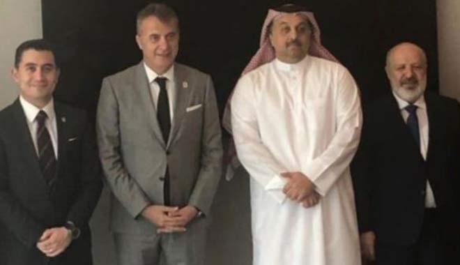 Fikret Orman'ın Katarlılarla yaptığı görüşmede Bilal Erdoğan'ın ne işi var?