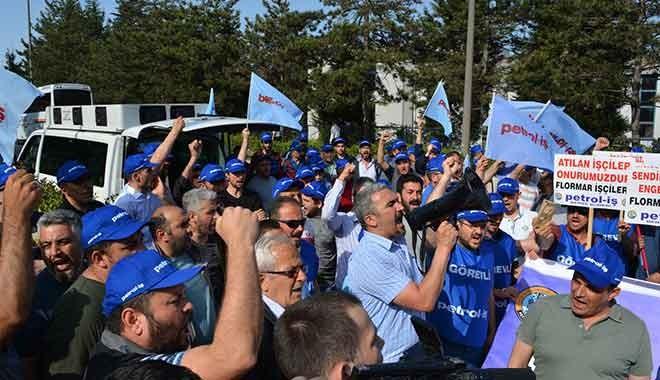 Flormar'da işten atılan işçilerinin mücadelesi sürüyor