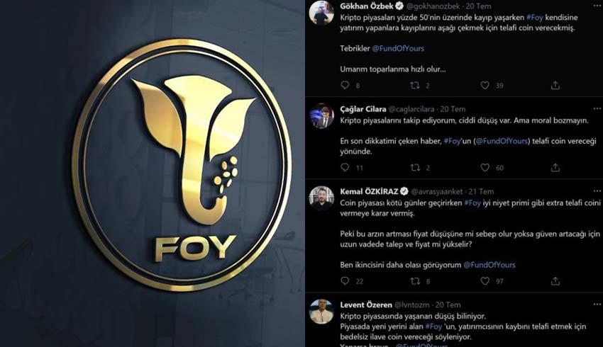 Foy Token'i hangi gazeteciler pazarlıyor?