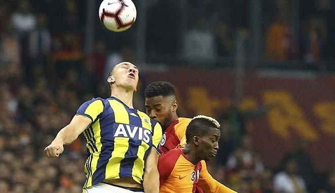 Galatasaray başladı, Fenerbahçe bitirdi: 2-2