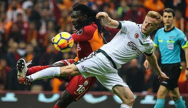 Galatasaray'dan Konyaspor karşısında kritik geri dönüş