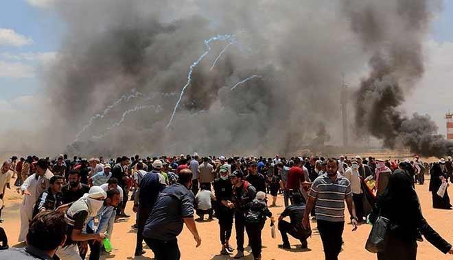 Fitil Trump'tan katliam İsrail'den: En az 55 şehit, 2 bin 700 yaralı