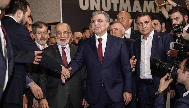 Abdullah Gül ve Temel Karamollaoğlu bir arada