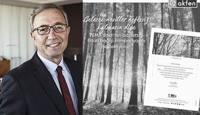 Hamdi Akın bu kez ormanlar için elini cebine attı: 5 bin ağaç bağışladı