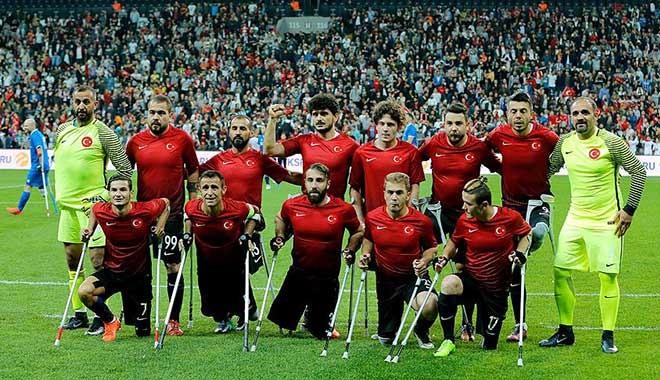 Helal olsun! Ampute Futbol Milli Takımı, dünya ikincisi oldu