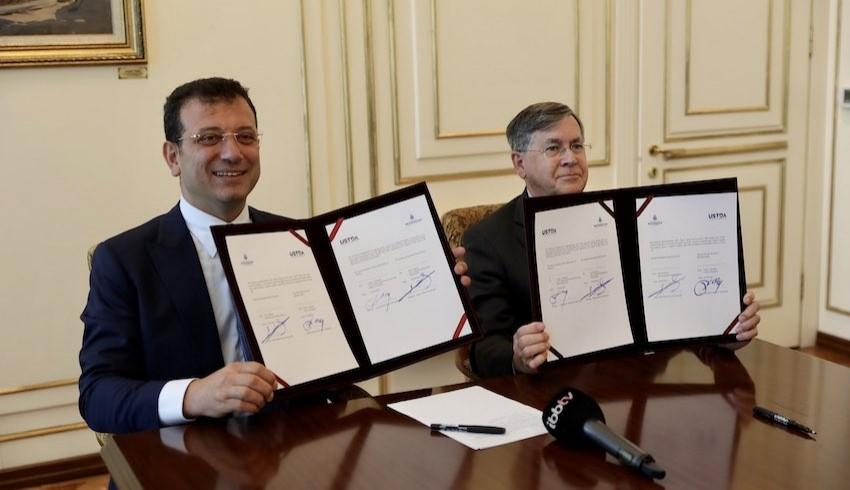 İBB ile ABD Ticaret ve Kalkınma Ajansı arasında 5 milyon dolarlık hibe anlaşması imzalandı