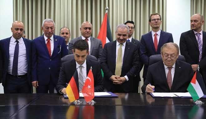 İmzalar atıldı; Türkiye Filistin'de sanayi bölgesi açıyor