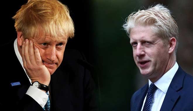 İngiltere Başbakanı Johnson'ın kardeşi bakanlıktan istifa etti