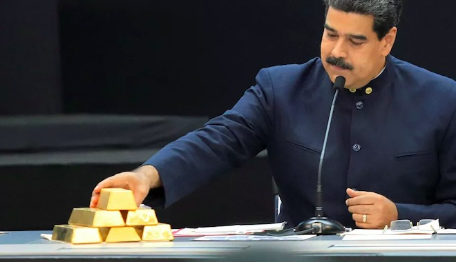 İngiltere, Venezüella'nın milyar euroluk altınlarına el koydu!