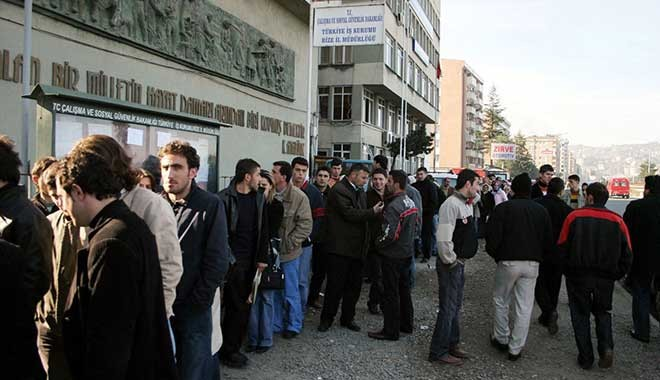 3.4 milyon kişi işsiz.. İşsizlik yine çift hane