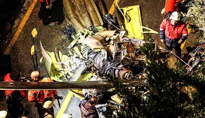 İstanbul Çekmeköy'de askeri helikopter düştü: Dört askerimiz şehit oldu