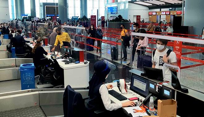 İstanbul Havalimanı'nın dış hat yolcu sayısı Haziran'da yüzde 96 düştü