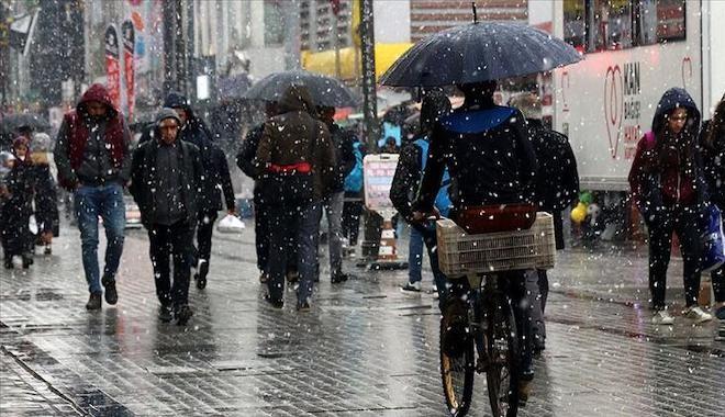Meteoroloji uyardı: 6 kente sağanak yağış geliyor
