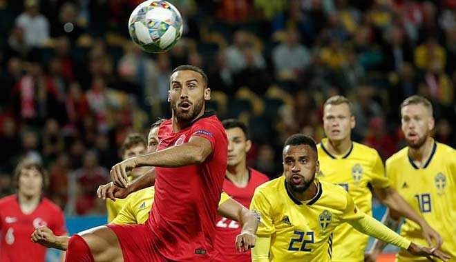 İsveç ile karşılaşan A Milli'ler son dakikada güldü: 3-2