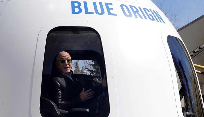 Jeff Bezos'la uzaya yolculuk için açık artırma; İşte rekor rakam...