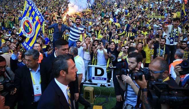 Fenerbahçe Başkanı Ali Koç mazbatasını aldı: Rekor satış bekliyorum