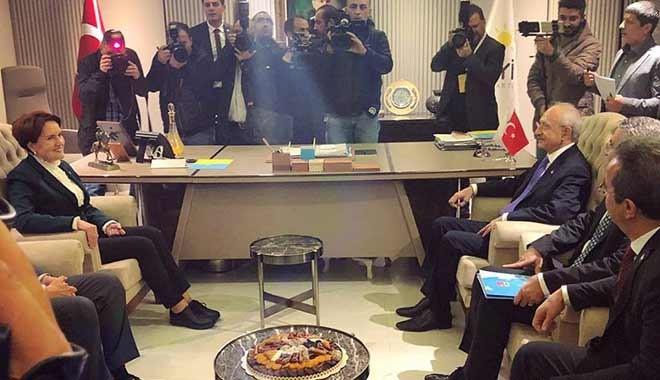 Kemal Kılıçdaroğlu ile Meral Akşener ne konuştu?