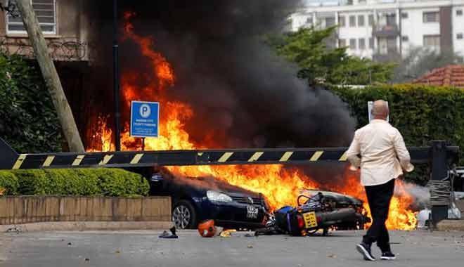 Eş Şebab, Kenya'da bir otele saldırı düzenledi: 1 ölü, 8 yaralı