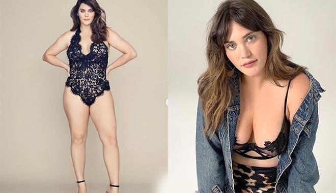 Kıyamet alameti mi?: Victoria's Secret ilk kez büyük beden modelle çalışıyor