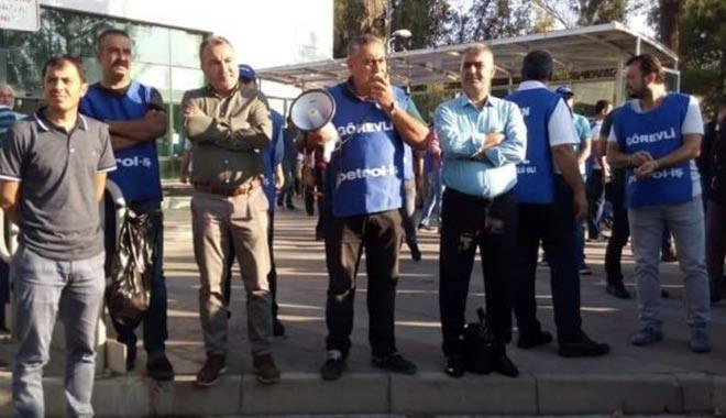 Koç Holding'e ait Tüpraş'ta işçilerin eylemleri diğer illere sıçradı