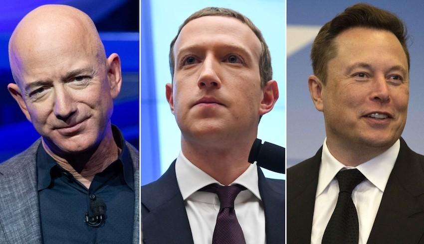 Dünyanın en zengin 10 kişisinden 7'si teknoloji işinde
