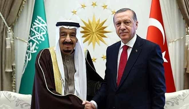 Kral Selman'dan Erdoğan'a 'uçak jesti'