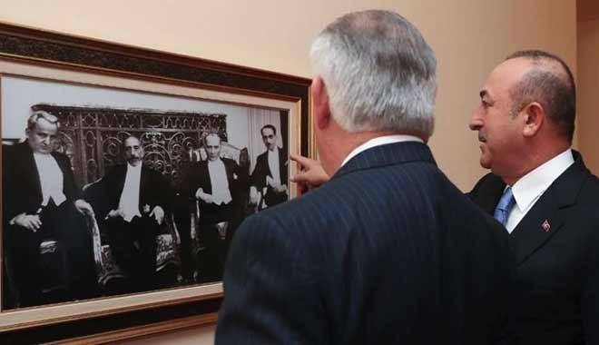 Kritik görüşmeye Atatürk damga vurdu