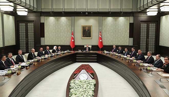 Kabine Erdoğan başkanlığında toplanıyor: Masada 5 önemli başlık var