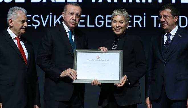 Leyla Alaton, Erdoğan'a 'Kalp kapakçığı' sözü verdi...