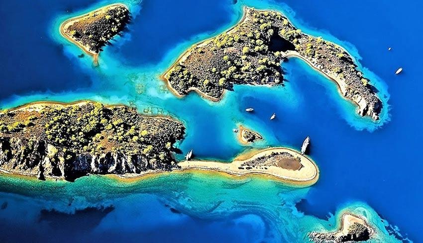 MUÇEV'e verildi: Fethiye'deki Yassıca Adaları'nda yapılaşma iddiası