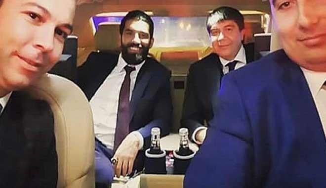 Menderes Türel ve Arda Turan'ın yer aldığı selfie gazeteciye haciz getirdi