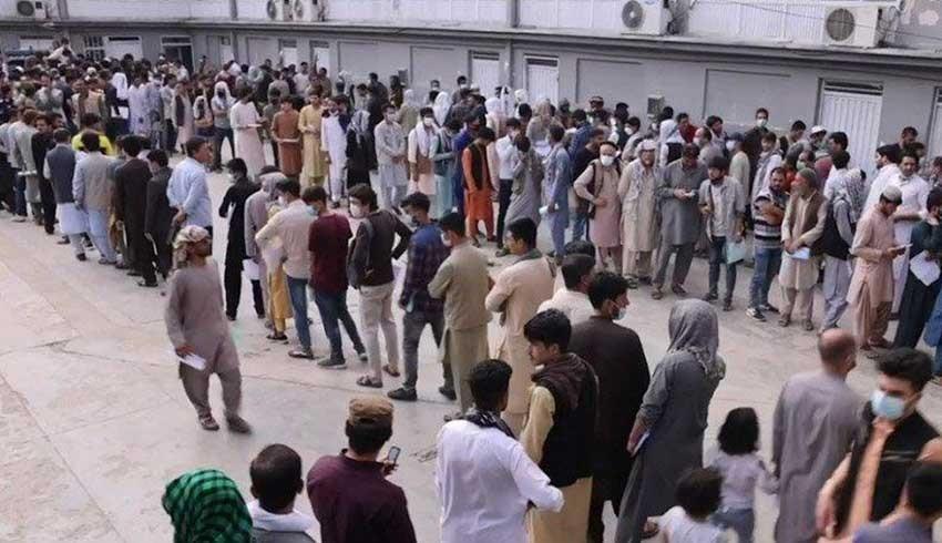 Milyonlarca Afgan kuyrukta! Hedef Türkiye üzerinden Almanya