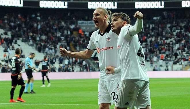 Nefes kesen maçta 3 puan Beşiktaş'ın