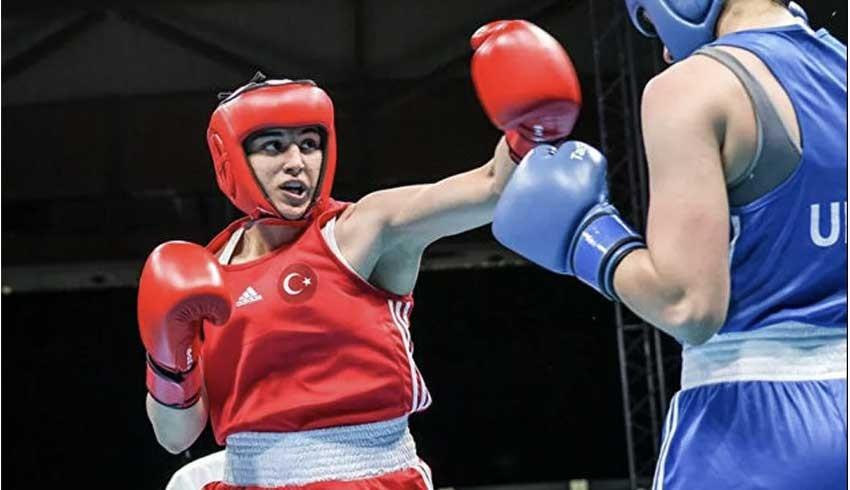 Olimpiyatlar tarihinde maç kazanan ilk Türk kadın boksör