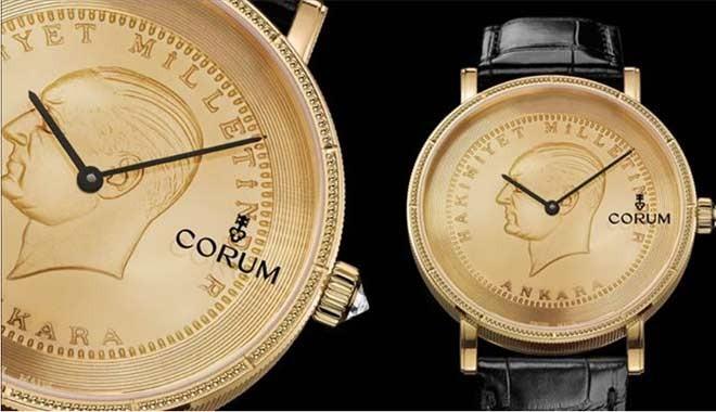 Özel üretim Atatürk saatini hangi iş insanı aldı?