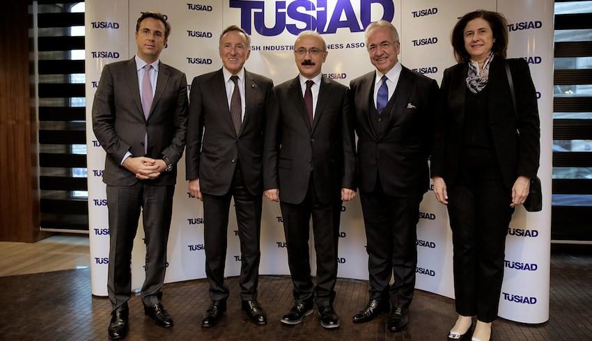Patronlar Kulübü TÜSİAD dan Bakan Elvan ve MB Başkanı Ağbal a tebrik ve önemli uyarı!