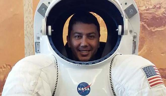 Pazarlık listesinde bir NASA çalışanı
