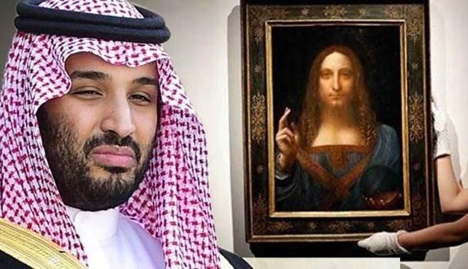 Prens Selman, 450 milyon dolarlık tabloyu nerede saklıyor?
