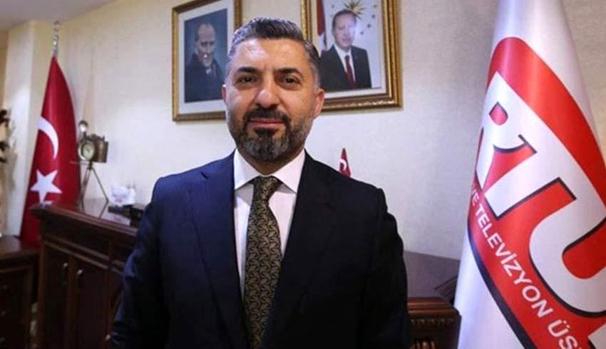 RTÜK Başkanı Şahin'e özel tasarım mobilya