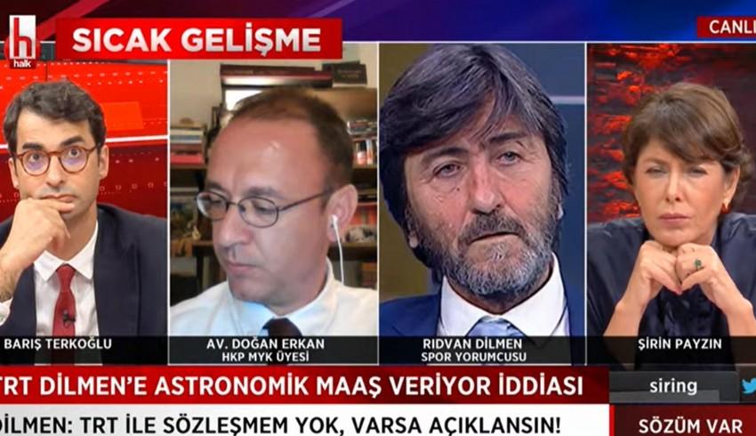 Rıdvan Dilmen: TRT bana aylık 60 bin TL'lik teklif yaptı; kabul etmedim