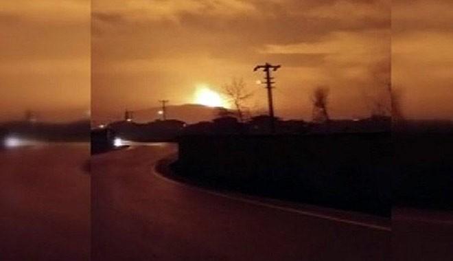 Sakarya'nın Arifiye ilçesinde büyük patlama ile ilgili görsel sonucu