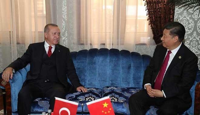 Erdoğan, Çin Devlet Başkanı Cinping ile telefonda görüştü