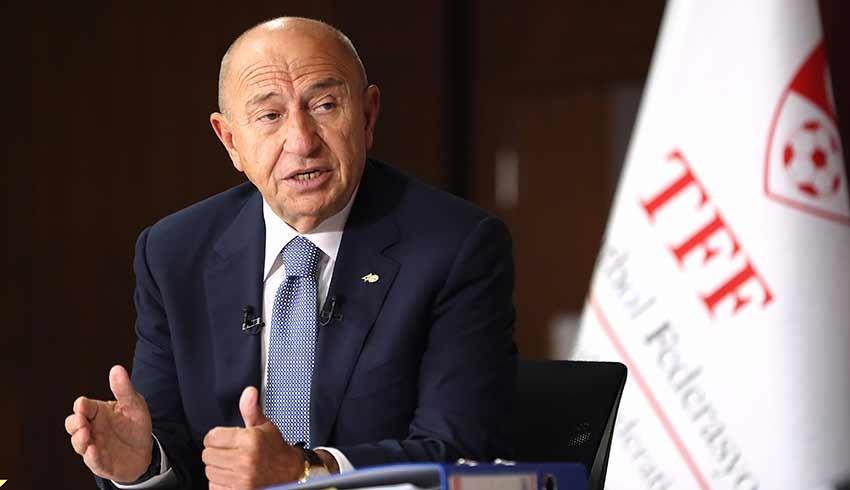 TFF Başkanı Özdemir: Statlar yüzde 50 kapasite ile seyirci alacak