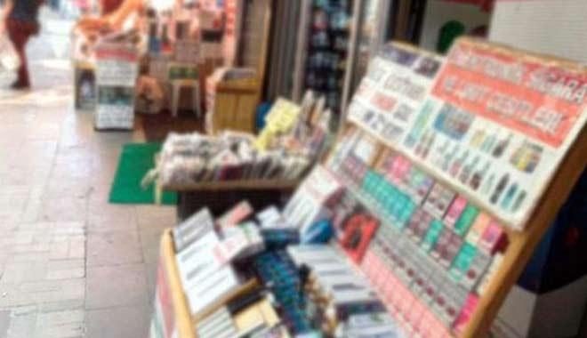 Tahtakale'ye operasyon! 65 bin parça kaçak ürün yakalandı