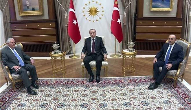 Tillerson'la Beştepe'deki 3 saat 15 dakikanın sırrı