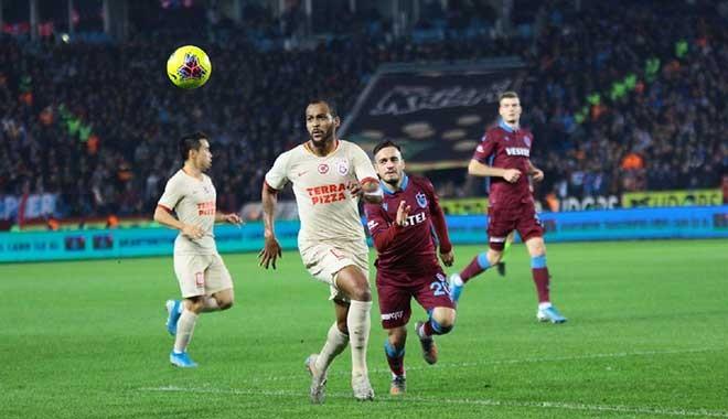 Nefes kesen maçta Trabzonspor ile Galatasaray puanları paylaştı