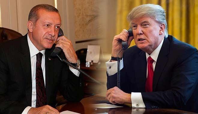 Erdoğan'dan Trump'la kritik görüşme!