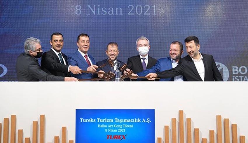 Yatırımcı Turex enkazının altında kaldı